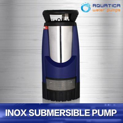 Aquatica Stainless Built-In Controller Multi-Stage Submersible Pump in 1000w and 1200w models