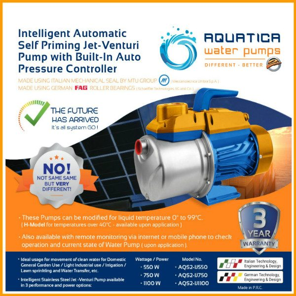 Download Aquatica Jet-Venturi Pump Brochure